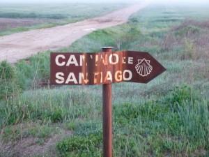 Santiago wegwijzer