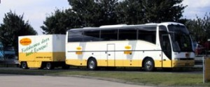 Cycle tours bus