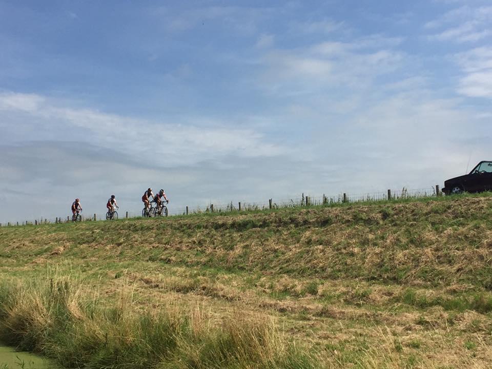 omringdijk fietsers