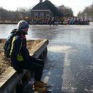 Als er ijs ligt, dan moet je er zijn!
