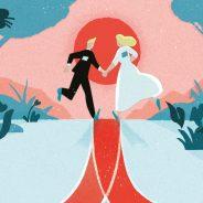 De bruiloft van Marijke & Niels, die mag worden ingelijst!