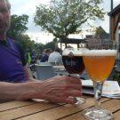 Leren roeifietsen voor Belgisch bier